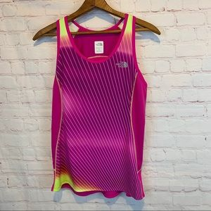 The North Face running racerback tank top Small
